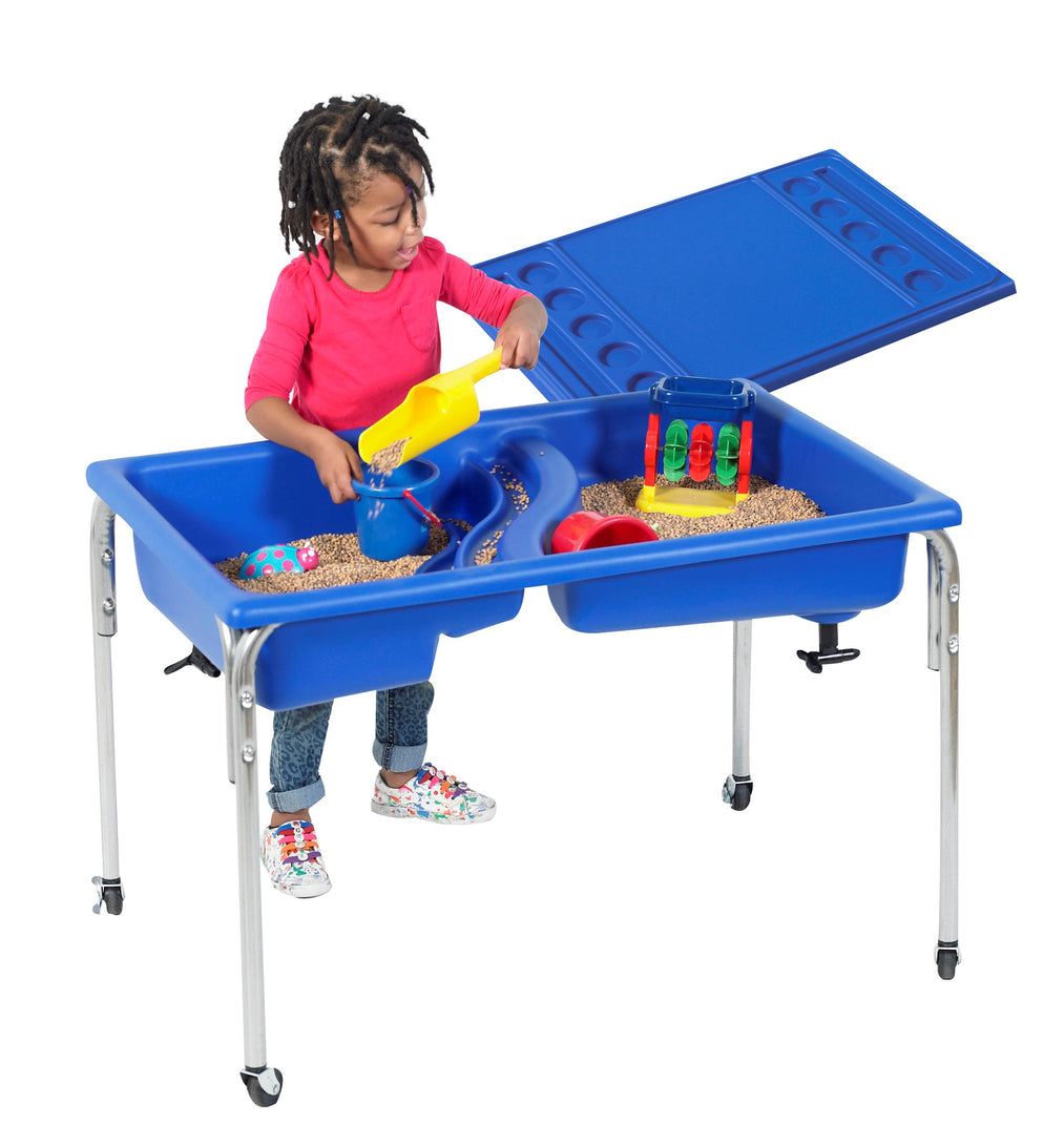 Children's Factory Neptune Table & Lid Set  – 18″h or 24