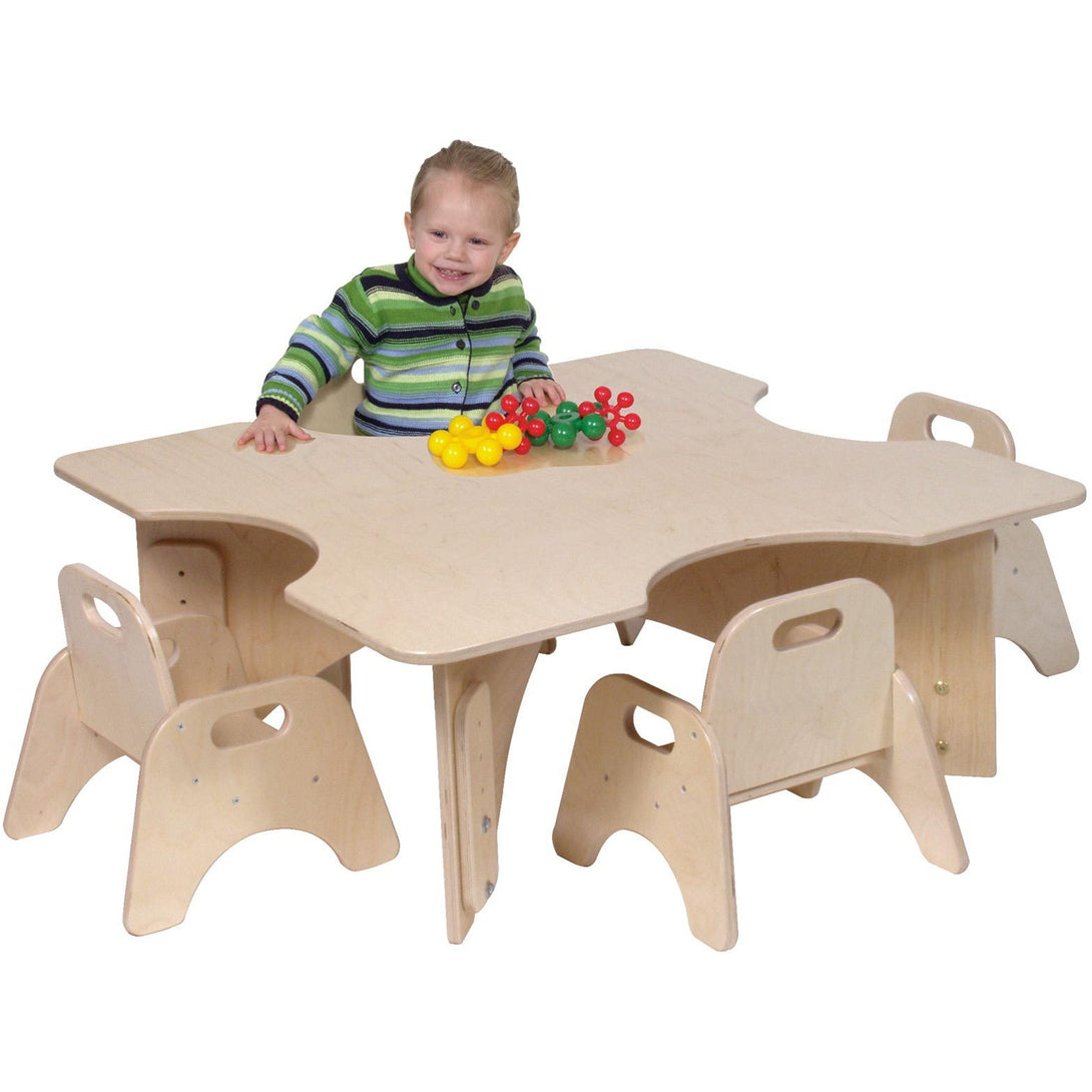Children's Factory Infant-Toddler Table ANG1349LT - Welcome 2 My Crib