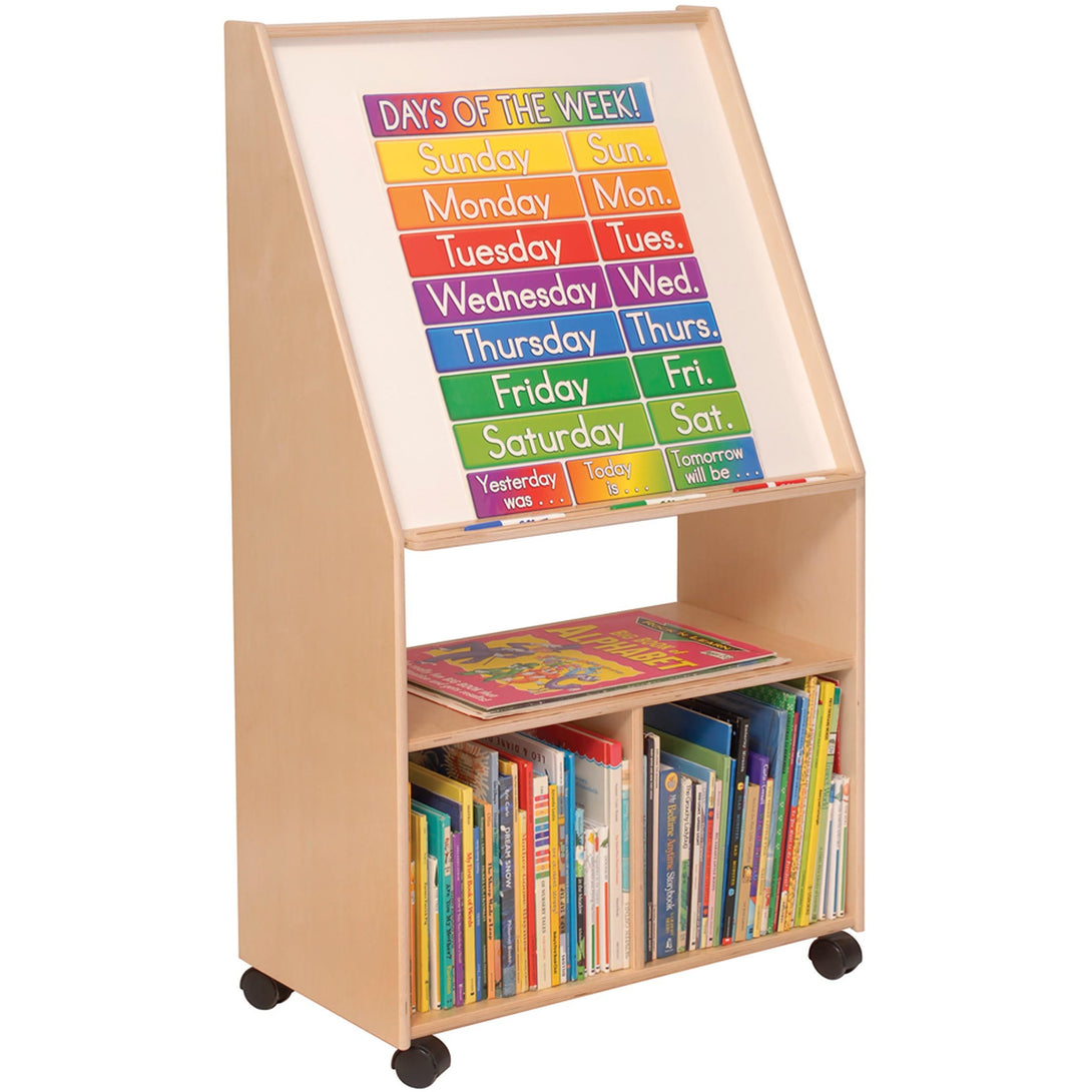 Angeles Write & Wipe Easel with Storage ANG1568 - Welcome 2 My Crib