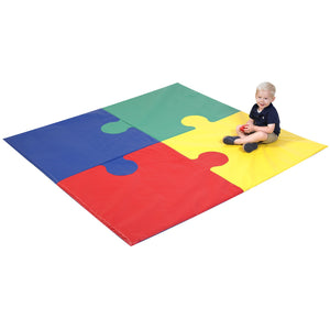 Children's Factory Square Puzzle Mat CF321-920 - Welcome 2 My Crib