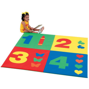 Learning Carpets 1-2-3-4 Mat Children's Factory CF362-161 - Welcome 2 My Crib