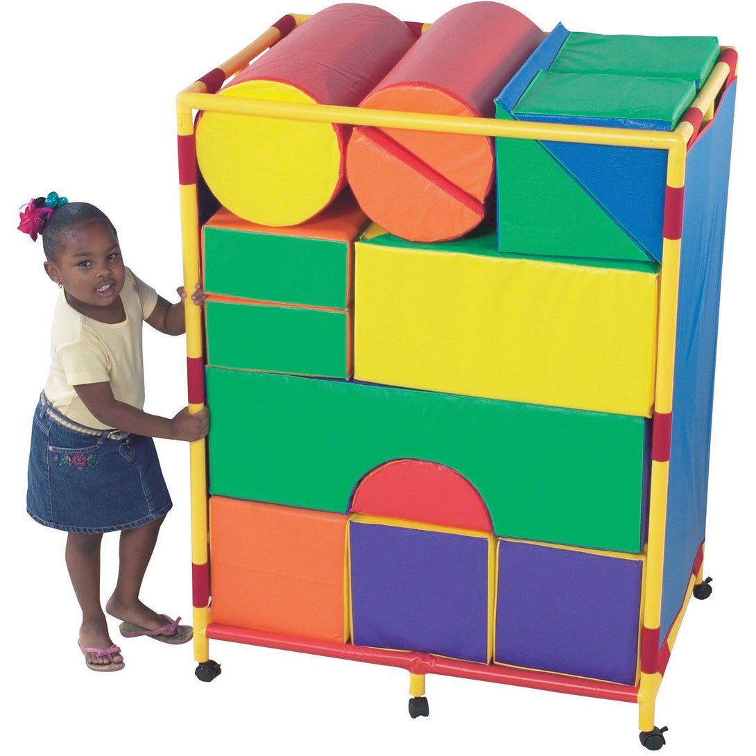 Children's Factory Soft Big Block Trolley – Set A - Welcome 2 My Crib