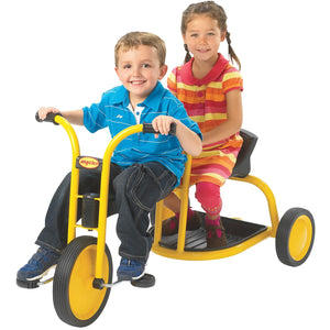 Angeles MyRider® Tandem Ride On Trike with Rear Seat AFB3700 - Welcome 2 My Crib
