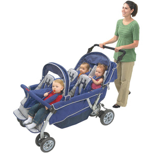 Angeles SureStop® Folding Commercial Bye-Bye® Stroller 6 Passenger AFB6700 - Welcome 2 My Crib