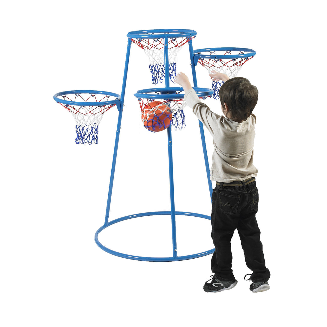 Children's Factory Rings Basketball Stand with Storage Bag - Welcome 2 My Crib