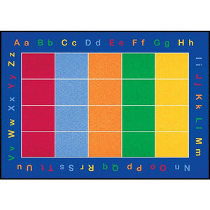 Learning Carpet ABC Squares – Rectangular Large CPR456 - Welcome 2 My Crib