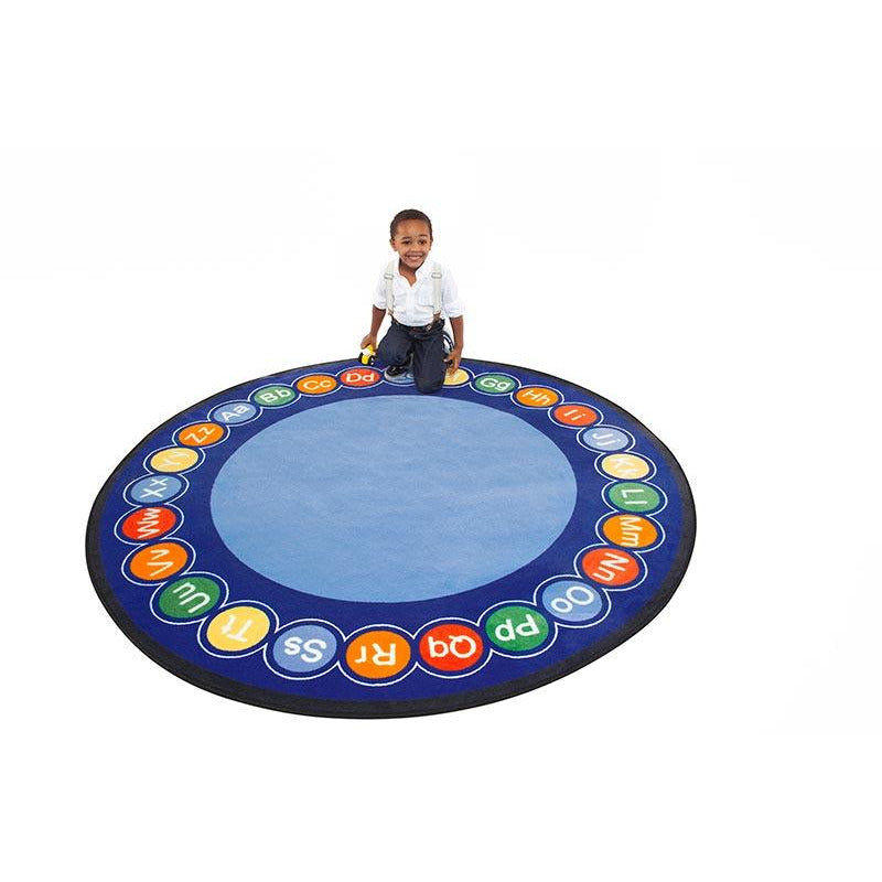 Children's Factory ABC Rotary – Round Large CPR458 - Welcome 2 My Crib