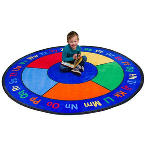Learning Carpet ABC Squares – Round Small SKU CPR483 - Welcome 2 My Crib
