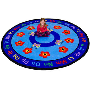 Children's Factory Butterflies – Round Large CPR536 - Welcome 2 My Crib