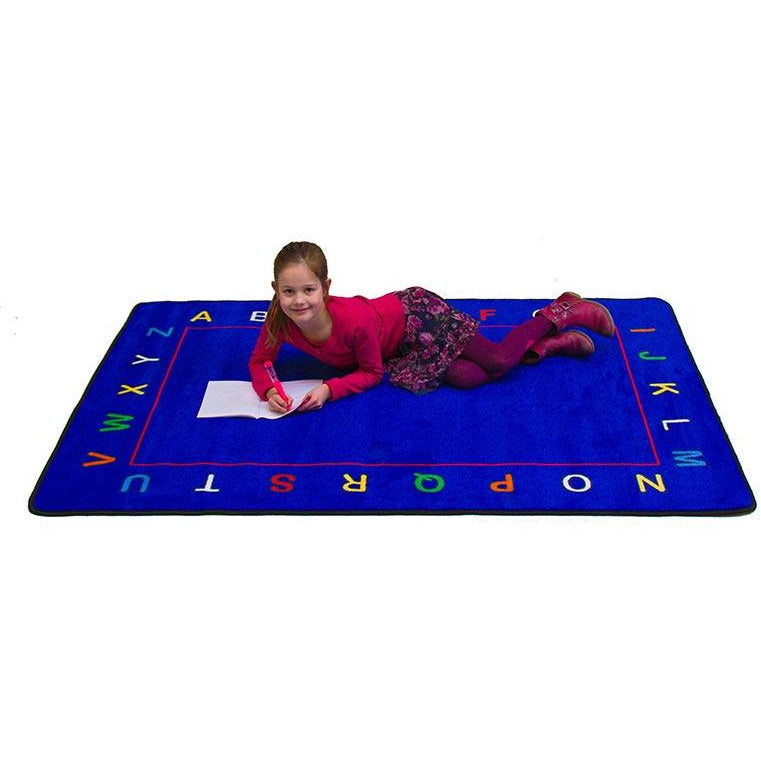 Learning Carpet Alphabet Value Rug – Rectangular CPR 607 - Welcome 2 My Crib