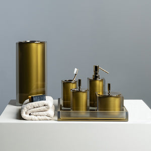 Vallvé Gloss Gold Bathroom Collection - Welcome 2 My Crib