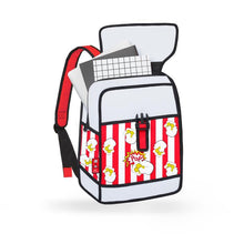 Jump From Paper Pop Art Backpack Popcorn Red JFP114 - Welcome 2 My Crib