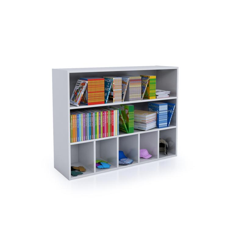 Whitney Brothers® White Cubby And Shelf Cabinet - WB0660 - Welcome 2 My Crib