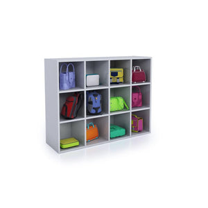 Whitney Brothers® White 12 Cubby Backpack Storage Cabinet - WB0661 - Welcome 2 My Crib