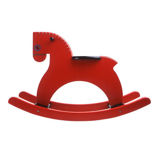 Playsam Wooden & Leather Rocking Horse - Welcome 2 My Crib