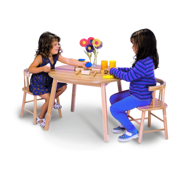 Whitney Brothers® Table and Two Chair Set - Welcome 2 My Crib
