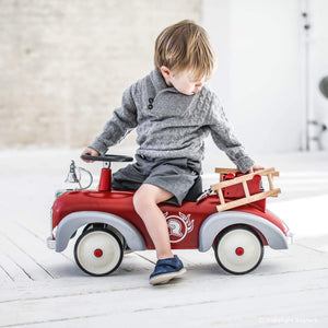 Speedster Fireman Firetruck Baghera Ride on Toy 1-3 Year Old SKU838 - Welcome 2 My Crib