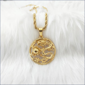 LUCKY DRAGON NECKLACE