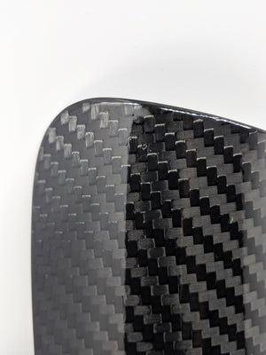 Carbon Black Shin Guards