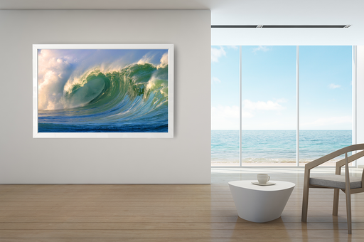 """Monster Wave"" - Art & Light"