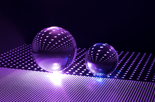 """Infinity Spheres"" - Art & Light"