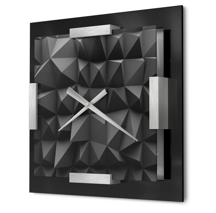 """Polygon"" - Wall Clock"