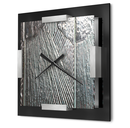 """Textured Time"" - Wall Clock"