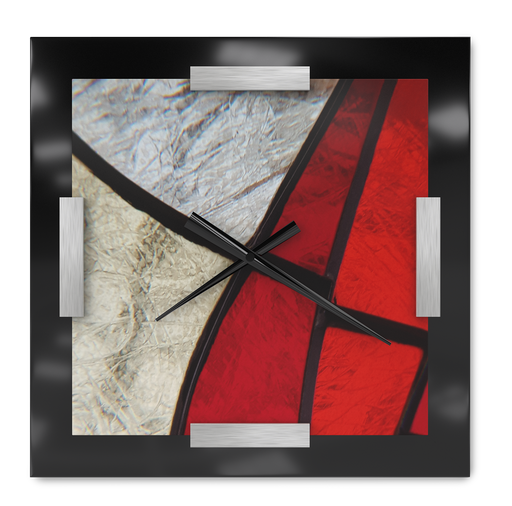 Red Zone Wall Clock