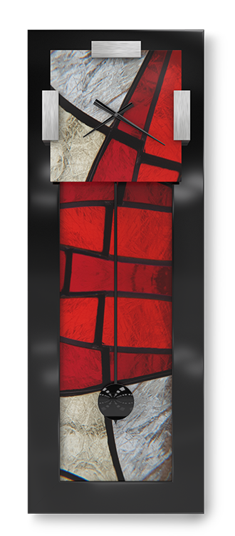 Red Zone Pendulum Clock