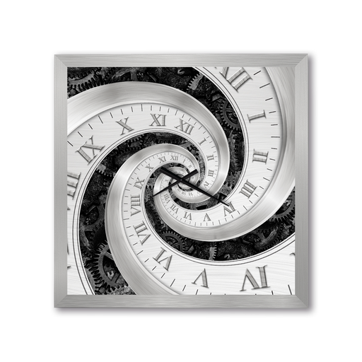 Swirling Dial Wall Clock