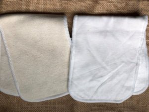 Hemp and Bamboo/ Cotton Insert- Combination pack