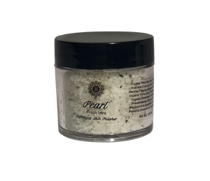 BELLA OPULENCE Mini Fresh Mint Pearl Softening Skin Polisher Sea Salt Body Scrub