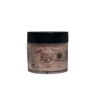 Mini Pure Rose Pearl Softening Skin Polisher Luxury body scrub