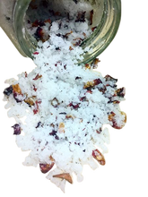 Load image into Gallery viewer, Bella Opulence Pure Rose Pearl Softening Skin Polisher Sea Salt Body Scrub