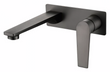 Zevio Wall Basin Mixer Gun Metal
