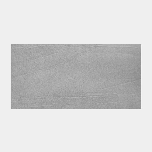 Alpine Grey External Outdoor Porcelain Tile 300x600mm with Matt Finish and Anti Slip Rating