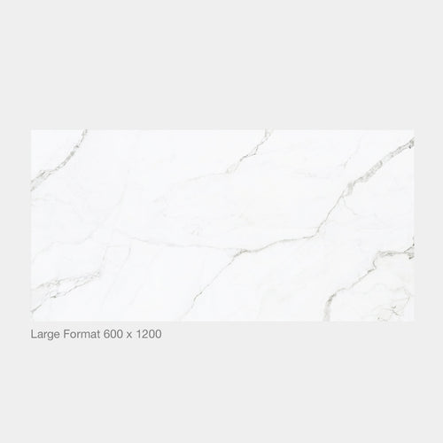 Statuario Marble Look Polished XL