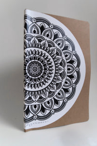 Mandala Sticker White