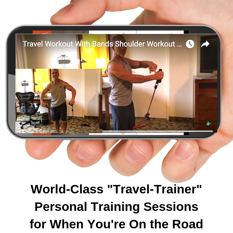 Travel Hotel Workout Personal Training Session Streaming for Smartphone