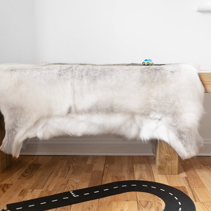 Mia - Natural  Scandinavian Reindeer Hide