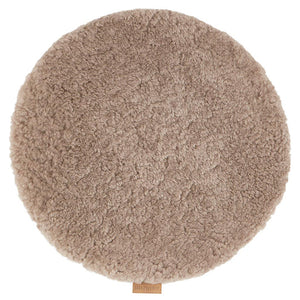 Jill Shorthair Sheepskin Seat Cushion