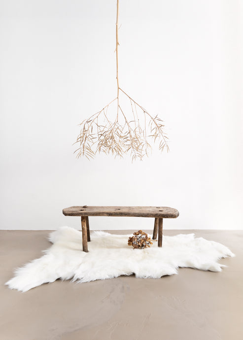 Rarebreed Albino Reindeer Hide rug-Luxury Hide, Scandinavian