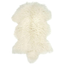 Load image into Gallery viewer, Ivory Tibetan Sheepskin