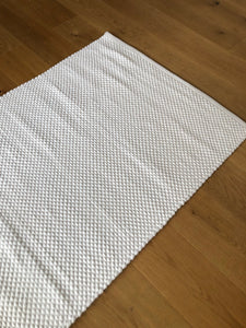 cotton & jute rug, natural woven rug
