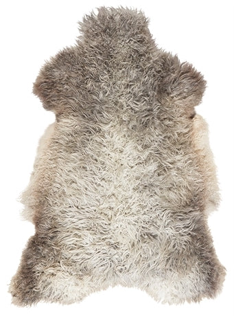 Light Long Hair Gotland Sheepskin