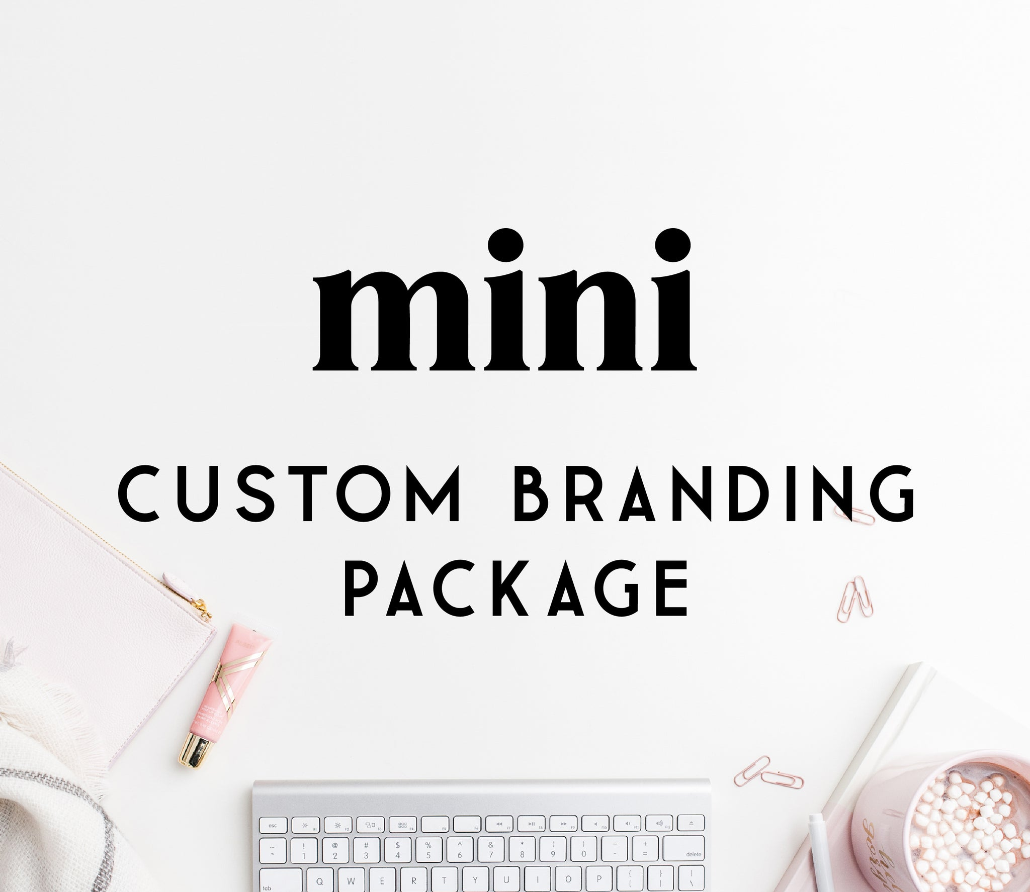 Custom MINI branding package