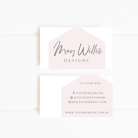 Pre-made business card design
