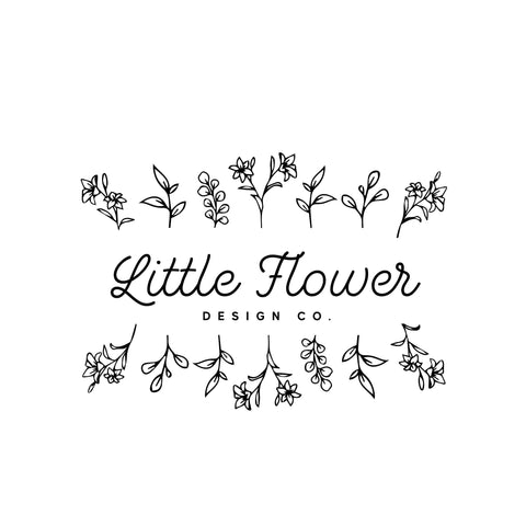 Black Floral logo design, Photography branding Business logo design, Pre made Logo and Watermark, Unique Beauty logo branding