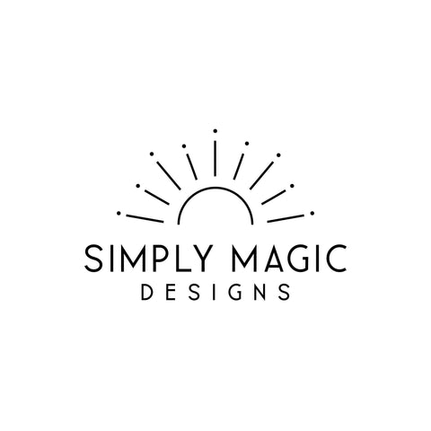 Minimalist Pre made logo, Text Blog logo design, Simple logo and watermark, Signature Black Business logo design, Scandi Sun logo design