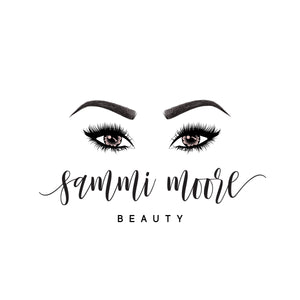Eyelash Brow Pre made logo, Text Blog logo design, Fun logo and watermark, Beauty Business logo design, Makeup logo branding